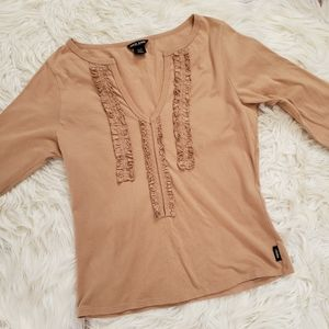 Guess 3/4 Sleeve Top